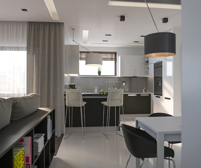 gray-modern-kitchen-stools