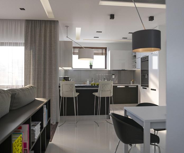 gray-modern-kitchen-stools
