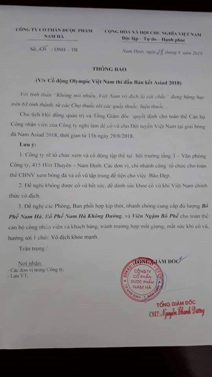 cong-ty-cho-nhan-vien-nghi-lam-xem-da-bong-u23-viet-nam