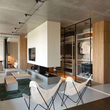 Phong cách thiết kế nội thất Penthouse tối giản tuyệt đẹp