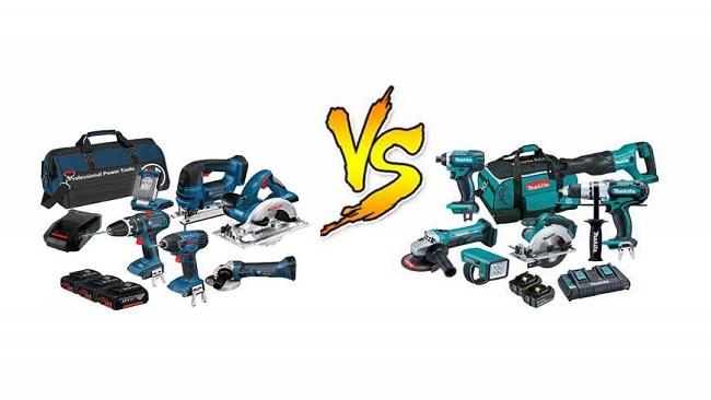 Makita và Bosch là 2 thương hiệu đáng để mua