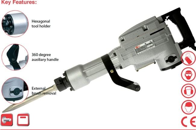 Review máy đục bê tông Keyang KH 6500