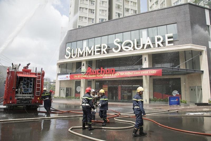 dien tap phong chay chua chay tai summer square