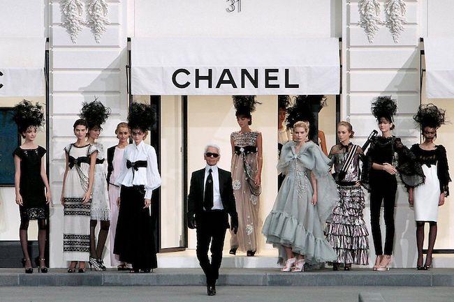 Karl Lagerfeld va chanel