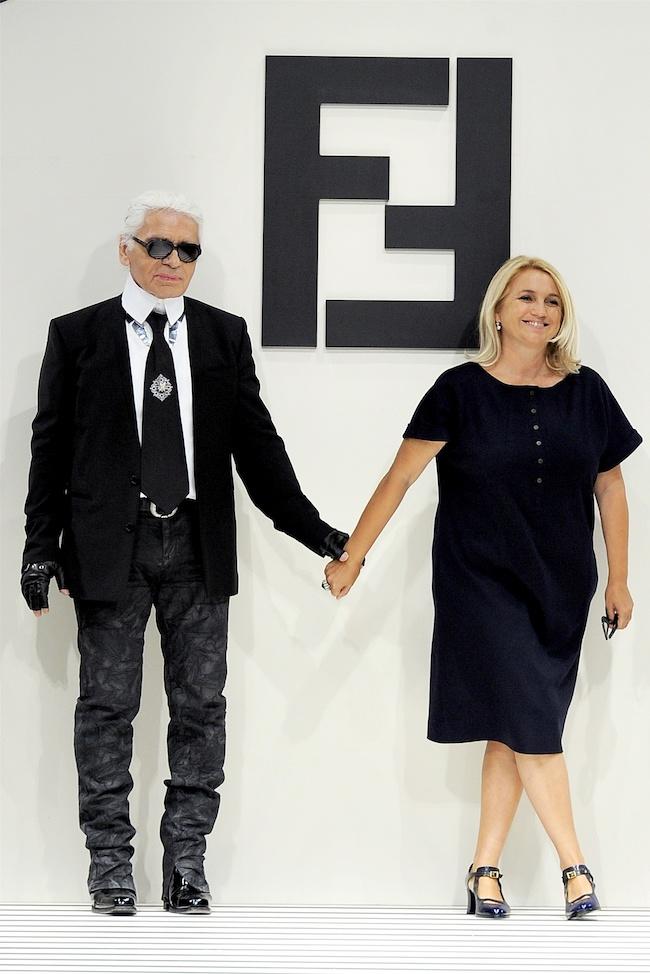 Karl Lagerfeld va thuong hieu Fendi
